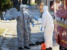 Bratislava hasiči koronavírus vzorky pacient