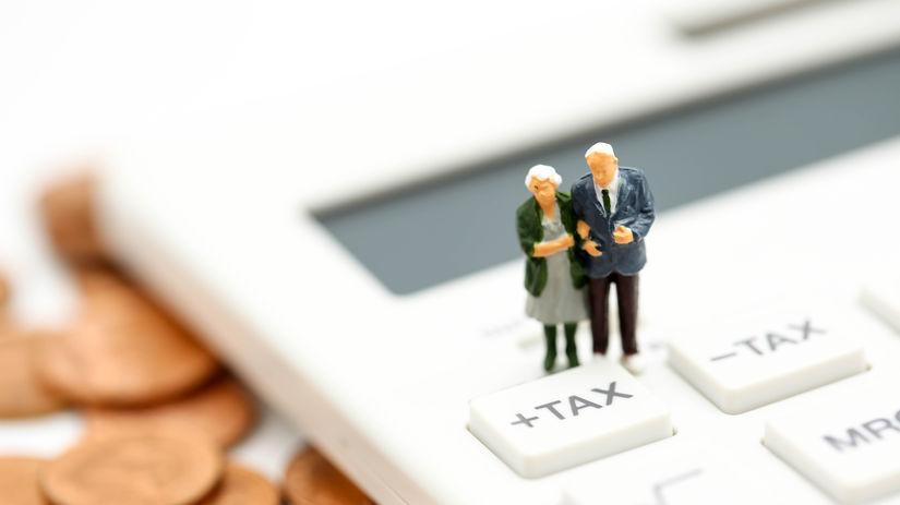 figúrky, dôchodcovia, manželia, kalkulačka,...