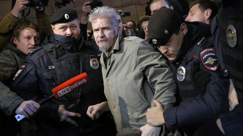 Rusko Úmrtie Limonov