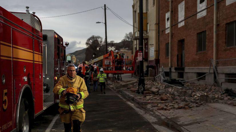 USA Salt Lake City zemetrasenie plytké