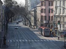 Bratislava, prázdne ulice