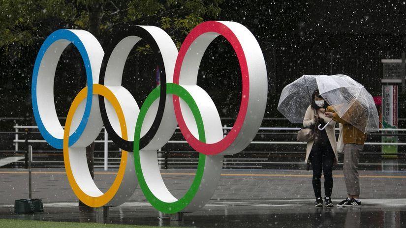 Olympijské kruhy, Tokio