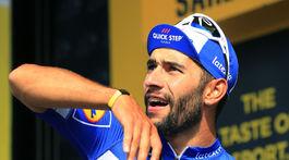 Cyklista Fernando Gaviria mal tiež test na koronavírus pozitívny.