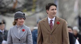 Justin Trudeau a jeho manželka Sophie Trudeau-Gregoire
