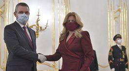 SR Čaputová Pellegrini vláda demisia BAX