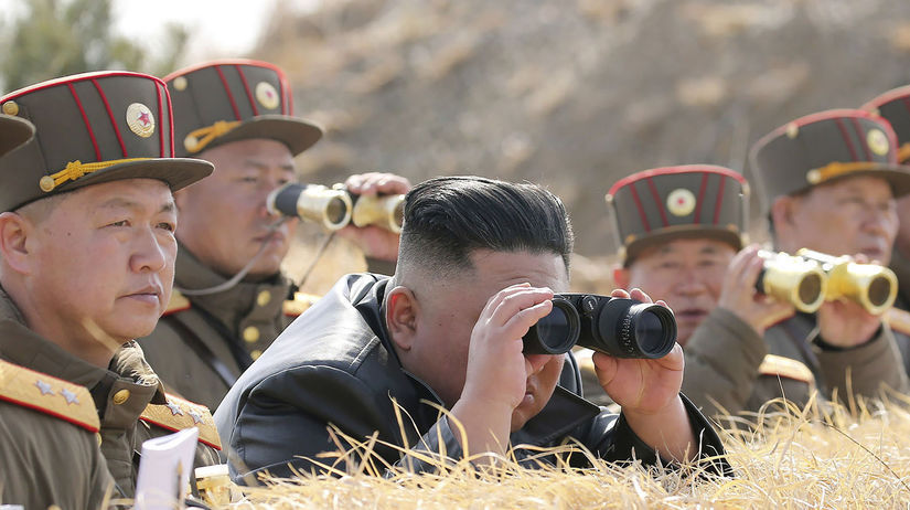 KĽDR / Kim Čong-un /