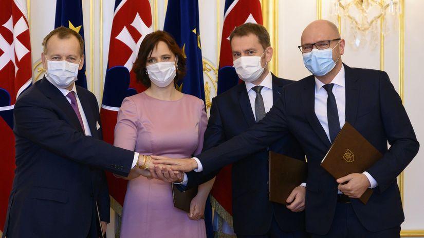 SR koaličná dohoda OĽaNO Sme rodina SaS ZĽ...