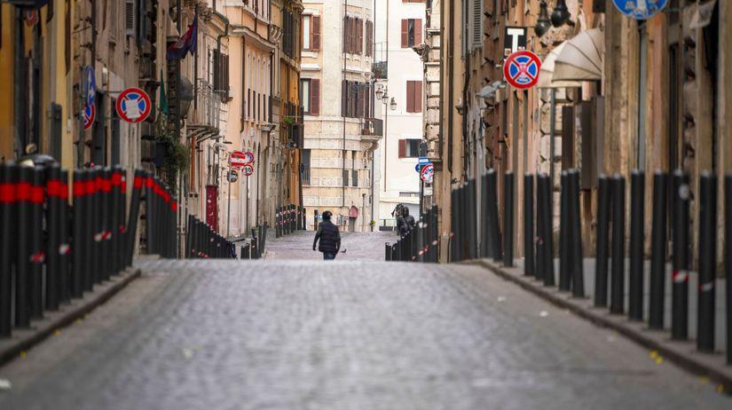Taliansko, Rím, koronavírus
