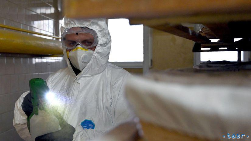 koronavírus dezinfekcia pekáreň prevencia postrek