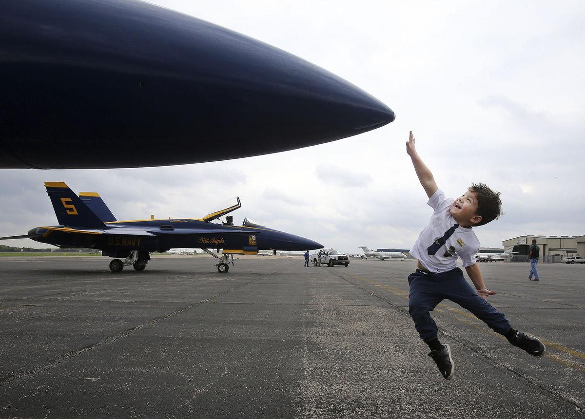 lietadlo, letisko, chlapec, cestovanie, Texas