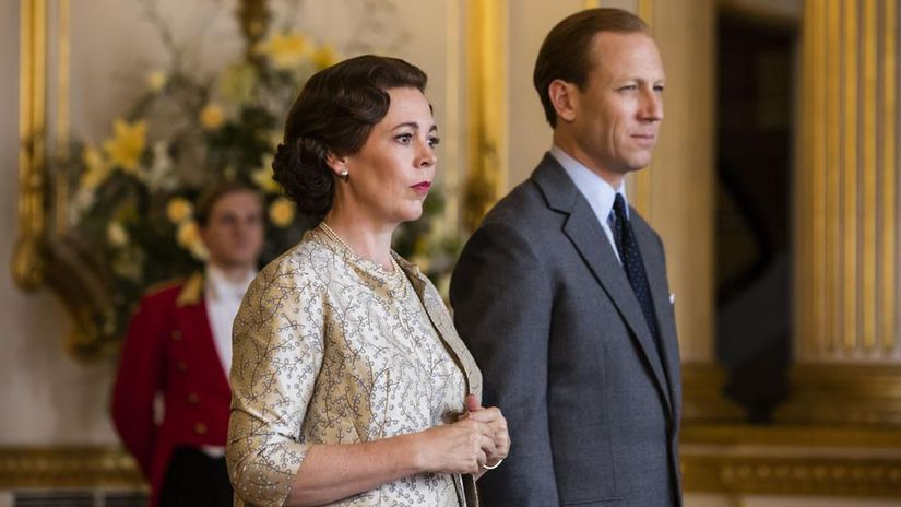 the crown, olivia colman, tobias menzies,