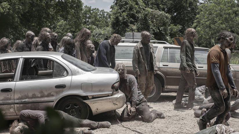 walking dead, zombík, zombie,