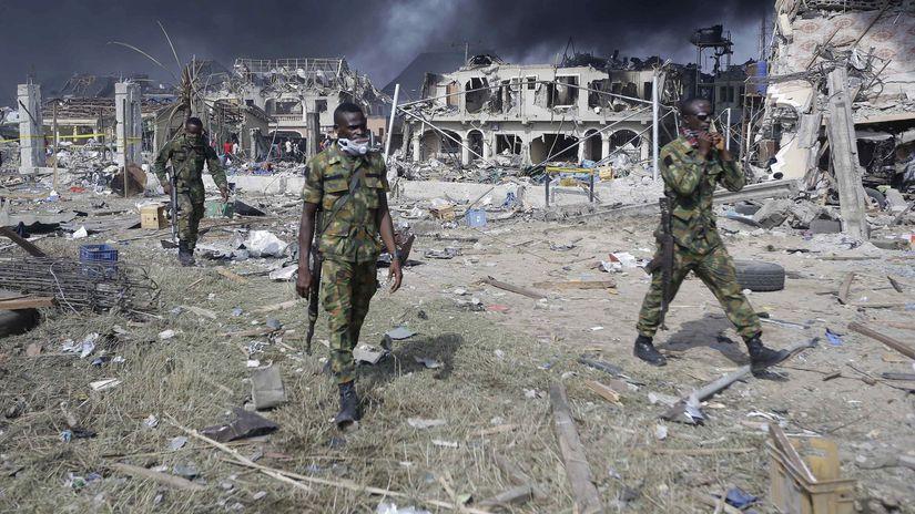 Nigéria / Vojak / Vojaci / Islamisti /...