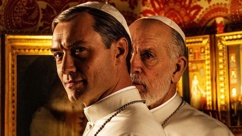 Nový pápež HBO