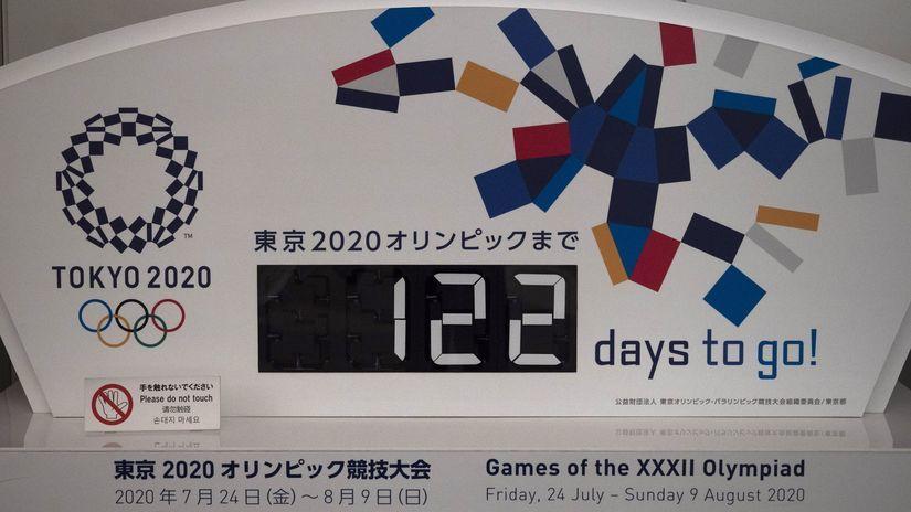 Odpočet, olympiáda, Tokio