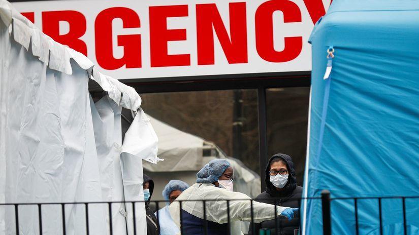 New York, nemocnica, pohotovosť
