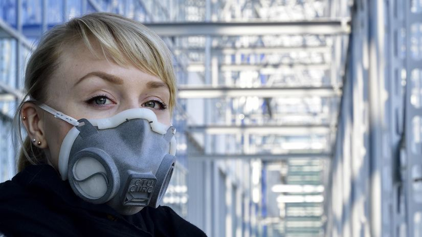 respirátor, koronavírus, ochranná maska, polomaska