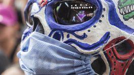 koronavírus, maska, rúško