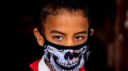 koronavírus, rúško, maska