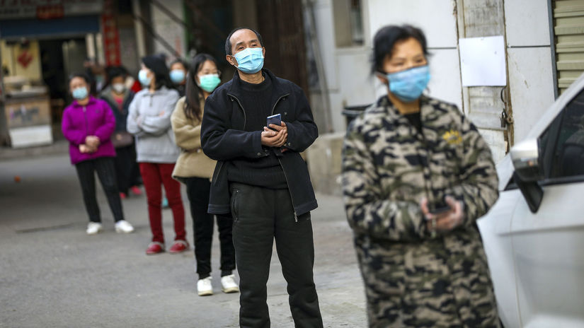 Wu-chan Čína, koronavírus