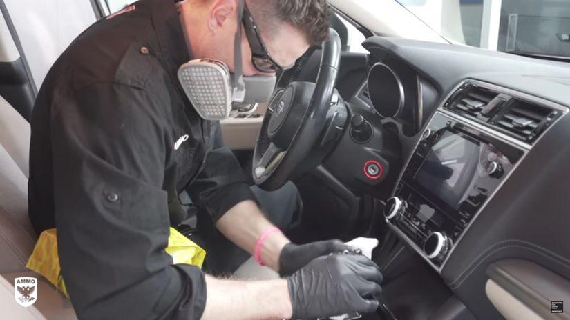 čistenie auta