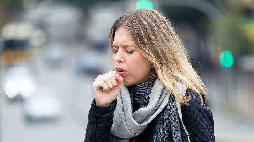 kašeľ, prechladnutie, nádcha, chrípka