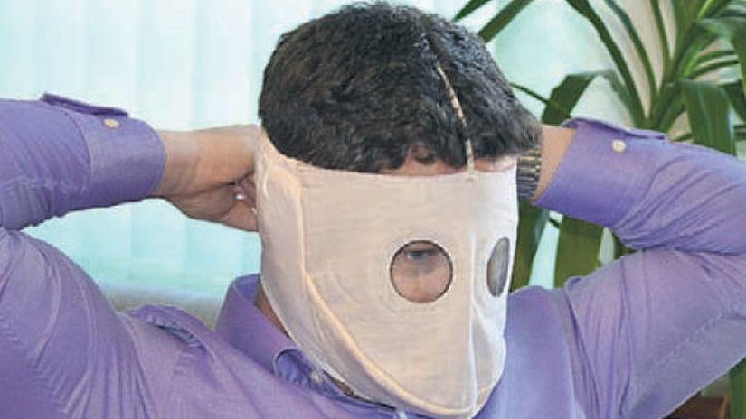 Rajec, maska, koronavírus