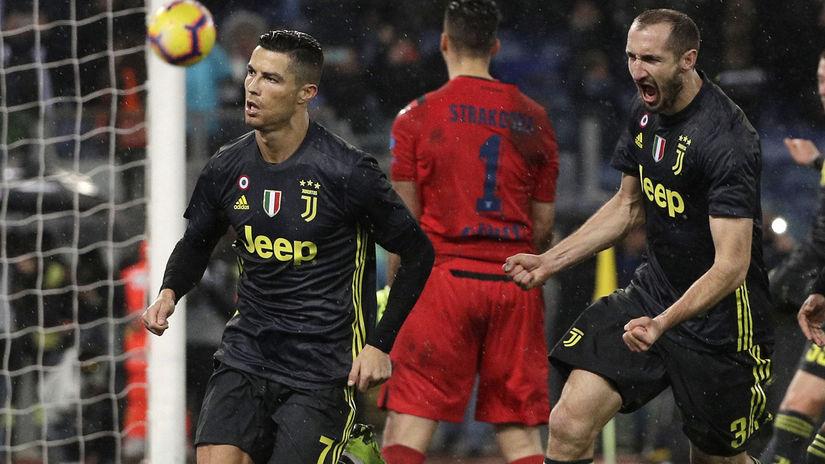 Cristiano Ronaldo, Giorgio Chiellini.