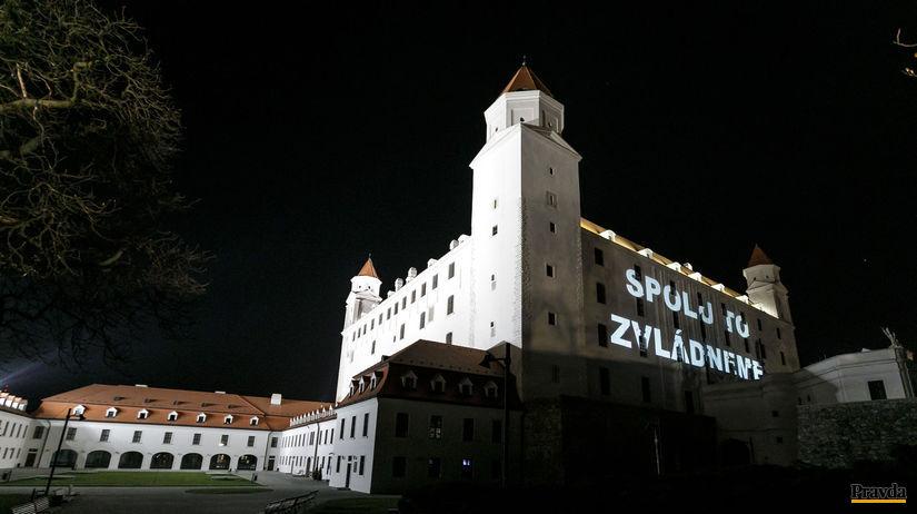 Zvládneme to, Bratislavský hrad