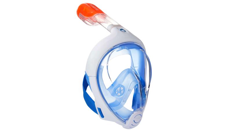 šnorchlovanie, dýchacia maska