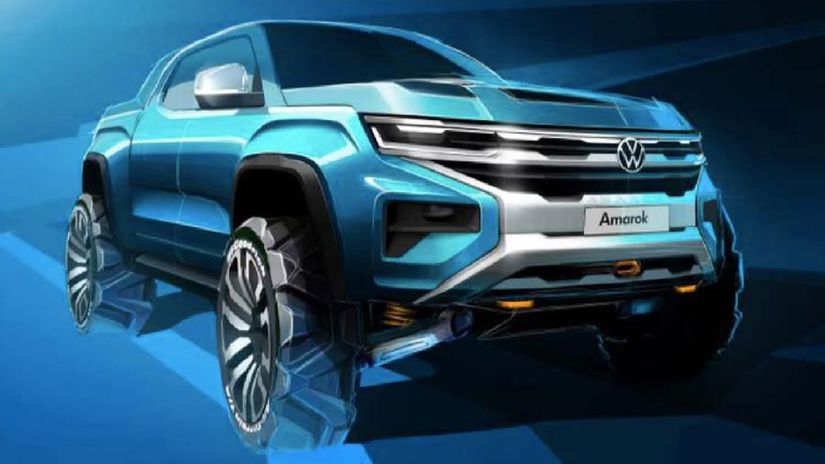 Volkswagen Amarok skica