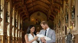 Záber z 8. mája 2019? Princ Harry a Meghan, vojvodkyňa zo Sussexu počas prvého oficiálneho fototermínu s ich novonarodeným synom - princom Archiem.