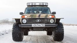 Lada 4x4 - pikap off-road