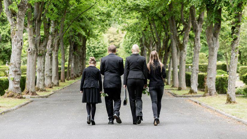 pohreb, smútok, posledná rozlúčka