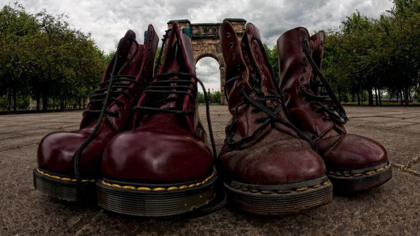 Slávny model topánok Dr. Martens číslo 1460....