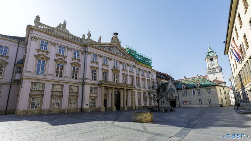 Bratislava koronavírus prázdne mesto