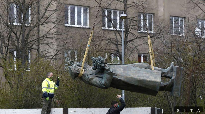 Czech Republic Russia Statue Dispute