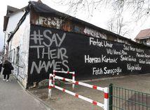 Nemecko Hanau podujatie smútočné obete streľba