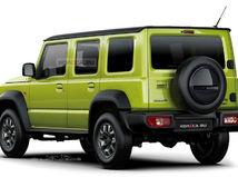 Suzuki Jimny 5D - ilustrácia