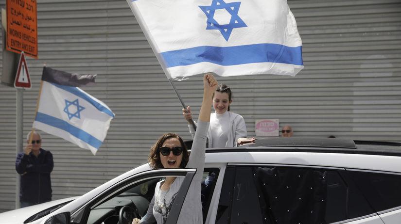 Izrael / Vlajka / Zástava /