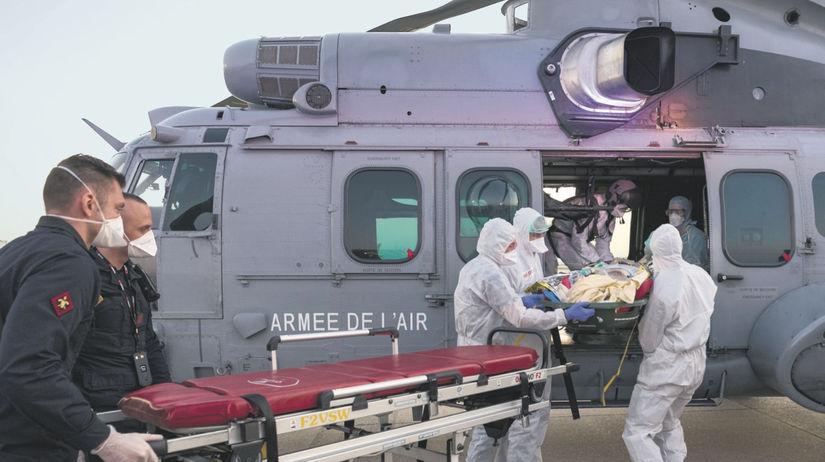 francúzska armáda, koronavírus