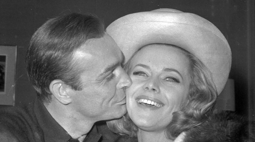 Záber z roku 1964: Britská herečka Honor...