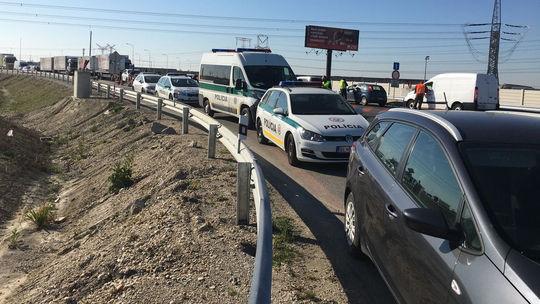 kolaps dopravy, Bratislava, Rovinka