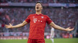 Nemecko futbal liga 9. kolo Lewandowski