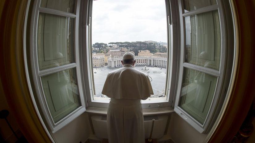 Vatikán pápež František požehnanie