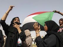 Sudán protesty obete pamiatka pochody