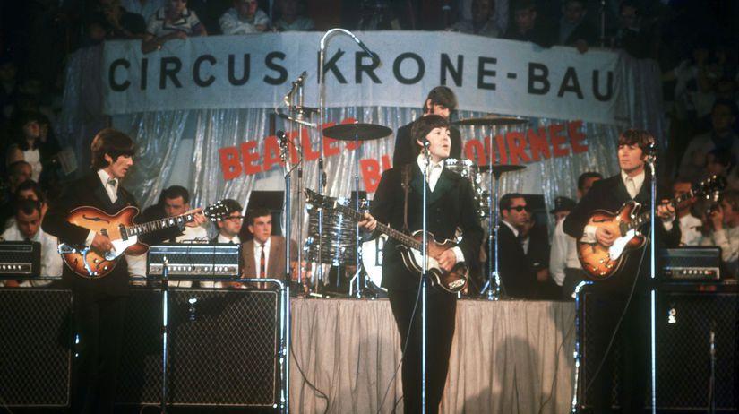 Británia hudba Beatles Rozpad 50. Výročie