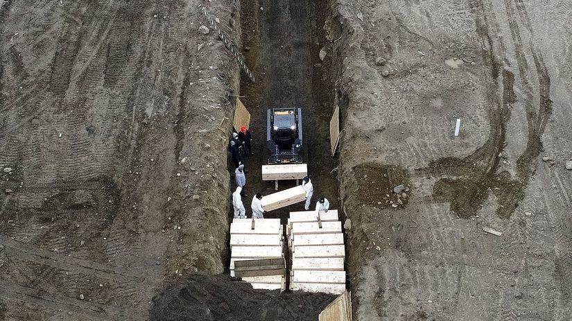 Masový hrob v New Yorku