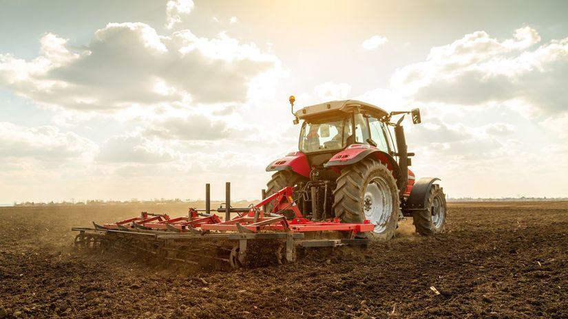 traktor, poľnohospodár, farmár, farma