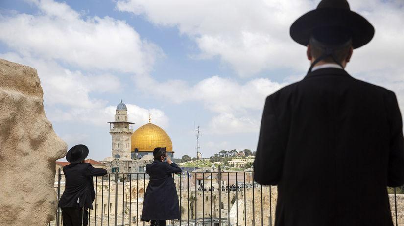 Izrael koronavírus opatrenia Židia sviatok pesach